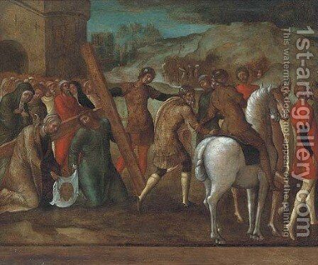 Christ on the Road to Calvary by (after) Ercole De' Roberti - Reproduction Oil Painting