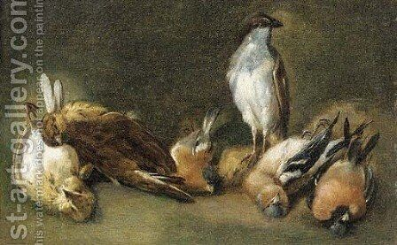 A study of songbirds by (after) Eugene Joseph Verboeckhoven - Reproduction Oil Painting