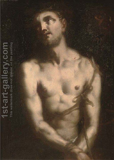 Ecce Homo by (after) Francesco Del Cairo - Reproduction Oil Painting