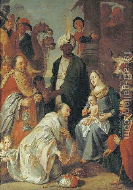 The Adoration of the Magi by (after) Gaspar De Crayer - Reproduction Oil Painting