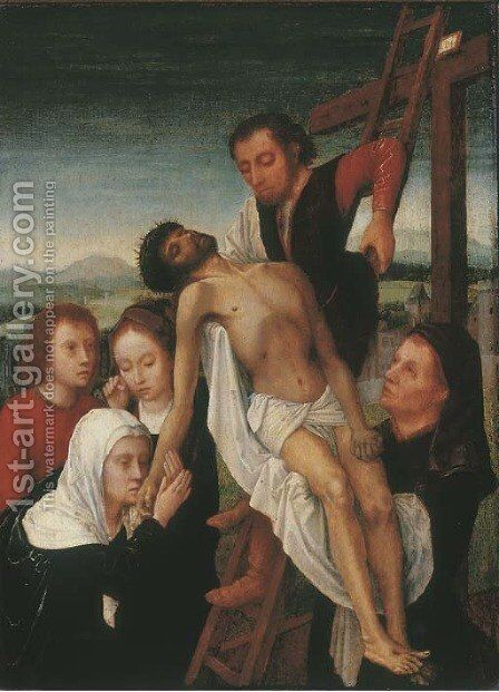 The Deposition by (after) Gerard David - Reproduction Oil Painting