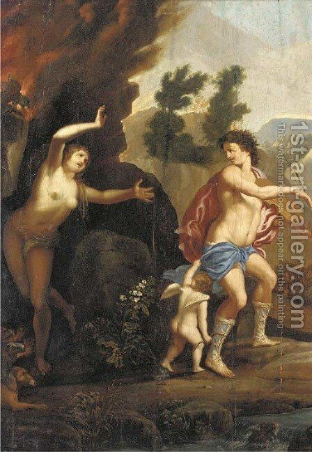Orpheus and Eurydice by (after) Gerard De Lairesse - Reproduction Oil Painting
