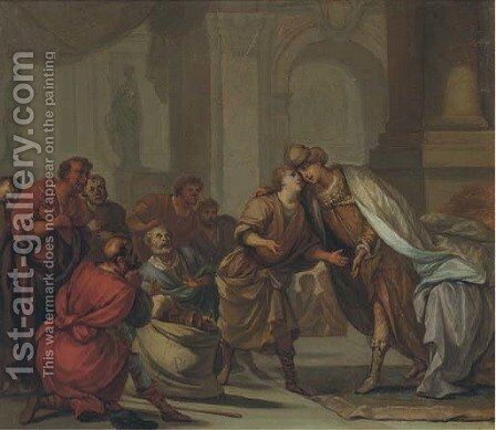 Scenes from the Life of Joseph by (after) Gerard De Lairesse - Reproduction Oil Painting