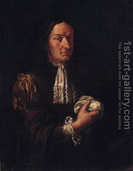 Portrait of a man by (after) Giacomo Francesco Cipper - Reproduction Oil Painting