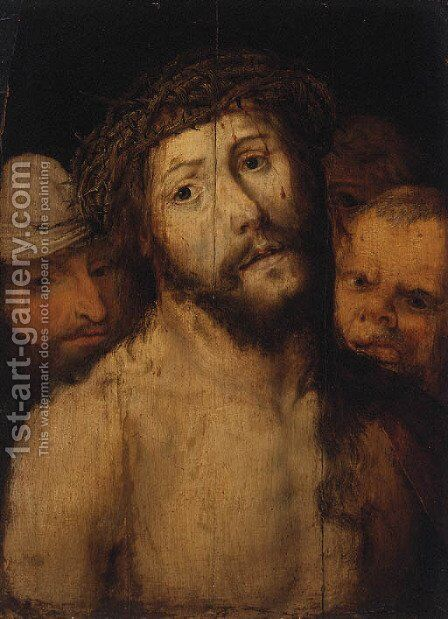 Ecce Homo by (after) Hans Hoffmann - Reproduction Oil Painting