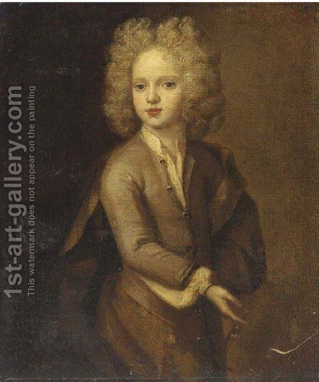 Portrait of a boy by (after) Henri Gascars - Reproduction Oil Painting