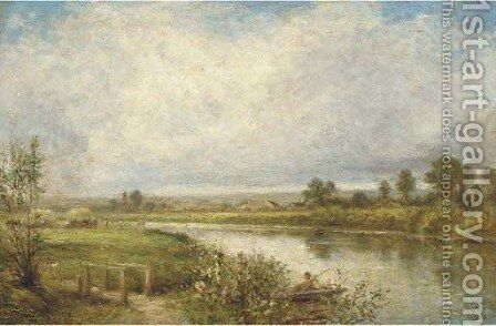 The river crossing by (after) Henry Maidment - Reproduction Oil Painting