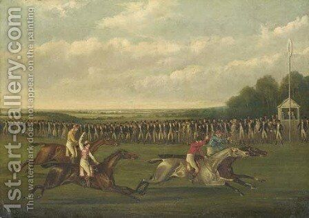 The Finish by (after) Henry Thomas Sen Alken - Reproduction Oil Painting