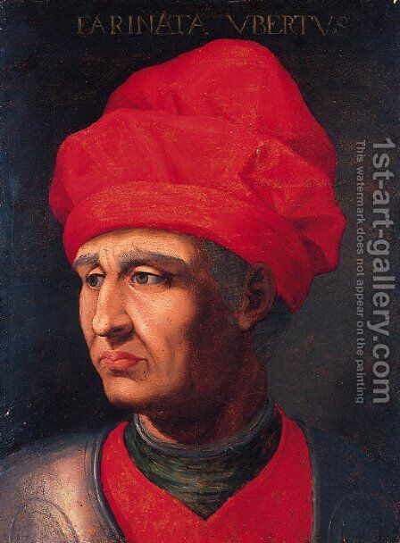 Portrait of a nobleman by (after) (Jacopo Carucci) Pontormo - Reproduction Oil Painting