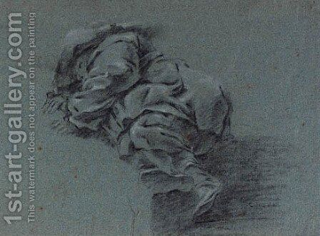 A boy in a hat asleep by (after) Jan Both - Reproduction Oil Painting