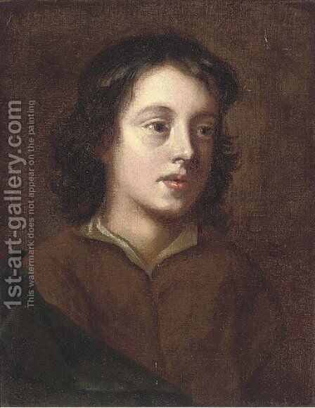 Portrait of a boy by (after) Theodore Gericault - Reproduction Oil Painting
