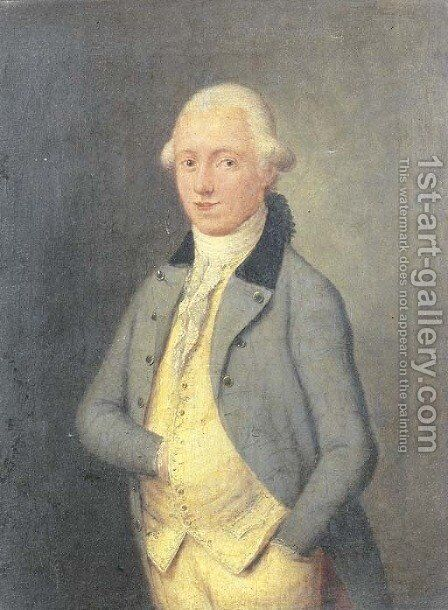 Portrait of Isaac de Swart (1765-1838) by (after) Etienne Liotard - Reproduction Oil Painting