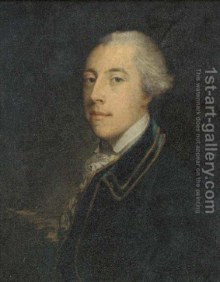 Portrait of Sir Thomas Sebright, 5th Bt. (1723-1763) by (after) John Astley - Reproduction Oil Painting