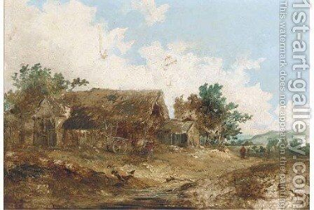 The farmstead by (after) John Crome - Reproduction Oil Painting