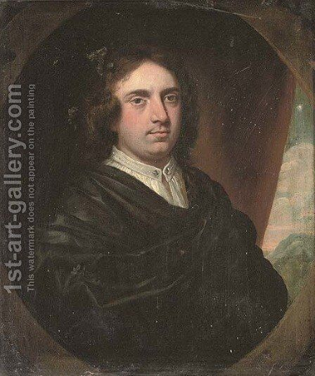 Portrait of Sir Humphrey Fynch by (after) John Riley - Reproduction Oil Painting