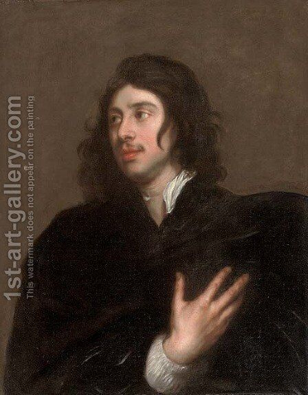 Portrait of a gentleman by (after) Lucas The Younger Franchoys - Reproduction Oil Painting