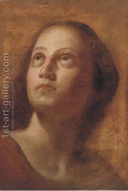 Portrait of a girl by (after) Ludovico Carracci - Reproduction Oil Painting