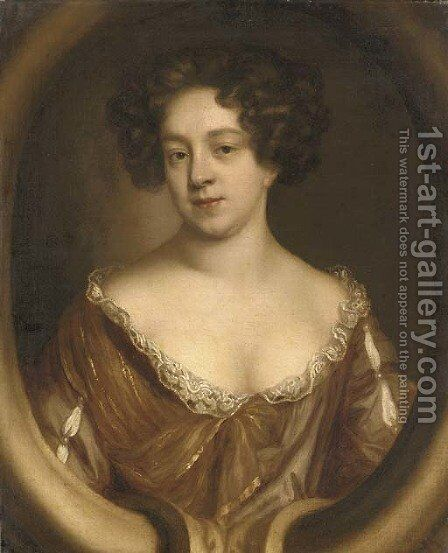 Portrait of a lady by (after) Mary Beale - Reproduction Oil Painting