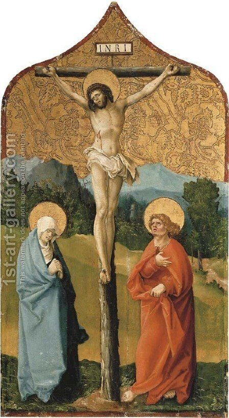 The Crucifixion by (after) Michael Haider - Reproduction Oil Painting