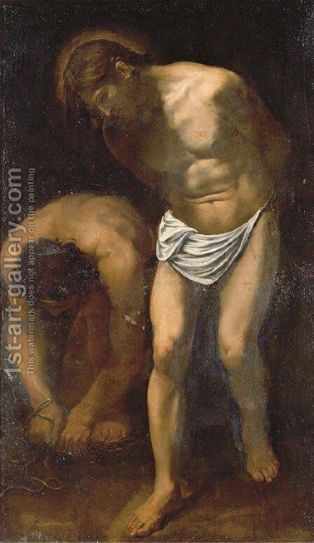 The Flagellation by (after) Michelangelo Merisi Da Caravaggio - Reproduction Oil Painting