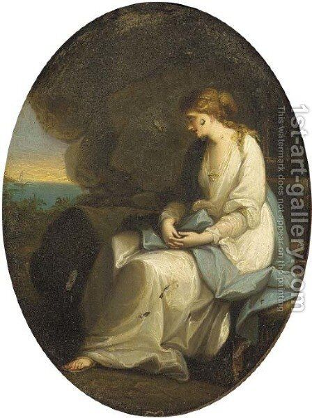 Hope by (after) Moses Haughton - Reproduction Oil Painting