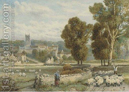 Woodstock by (after) Foster, Myles Birket - Reproduction Oil Painting