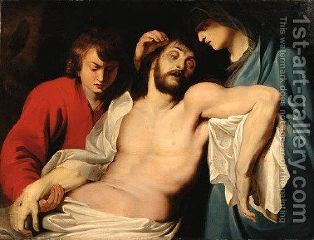 The Lamentation by (after) Rubens, Peter Paul - Reproduction Oil Painting