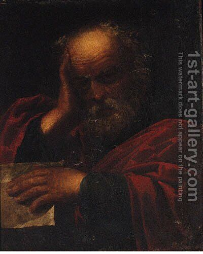 Saint Paul by (after) Pietro The Elder Muttoni - Reproduction Oil Painting