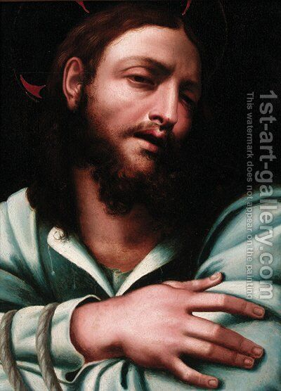 Ecce Homo by (after) Sebastiano Del Piombo (Luciani) - Reproduction Oil Painting