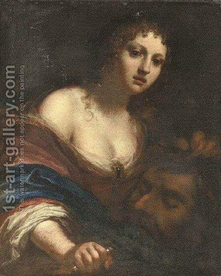 Judith with the head of Holofernes by (after) Simon Pignone - Reproduction Oil Painting