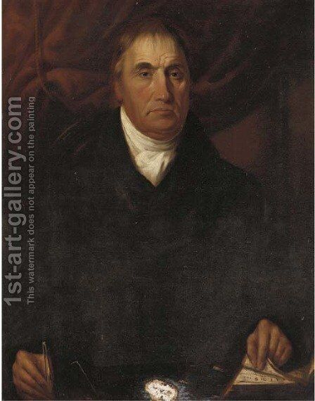 Portrait of George Willans by (after) Sir Martin Archer Shee - Reproduction Oil Painting