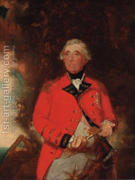 Portrait of George III by (after) Sir William Beechey - Reproduction Oil Painting