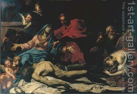 The Lamentation by (after) Stefano Maria Legnani - Reproduction Oil Painting