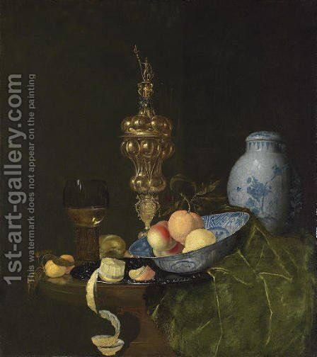 Still life with a roemer by Claes Bergoijs - Reproduction Oil Painting