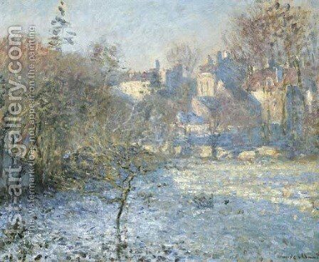 Le Givre by Claude Oscar Monet - Reproduction Oil Painting