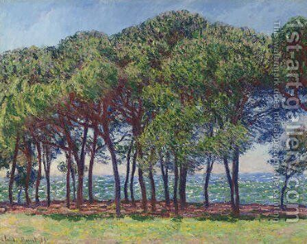 Pins, cap d'Antibes by Claude Oscar Monet - Reproduction Oil Painting