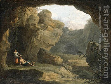 Untitled 3 by Claude-joseph Vernet - Reproduction Oil Painting