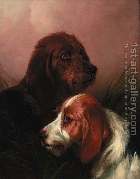 The Best of Friends by Colin Graeme Roe - Reproduction Oil Painting