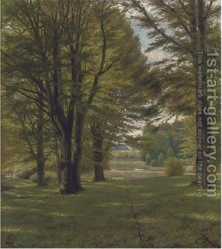Summer light by Continental School - Reproduction Oil Painting