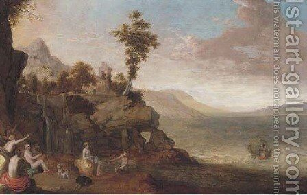 The Rape of Europa by Cornelis Willaerts - Reproduction Oil Painting
