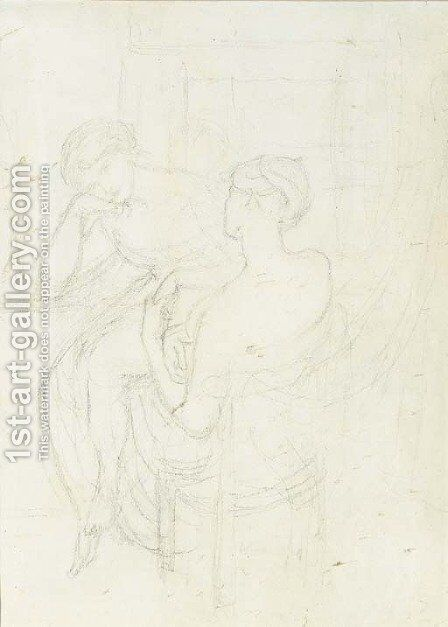 The Bride's Prelude by Dante Gabriel Rossetti - Reproduction Oil Painting