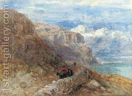 Penmaenmawn, Wales by David Cox - Reproduction Oil Painting