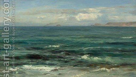 The Cornish Sea by David Farquharson - Reproduction Oil Painting