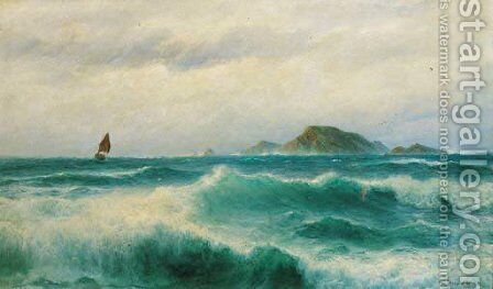 A Ground Swell by David James - Reproduction Oil Painting