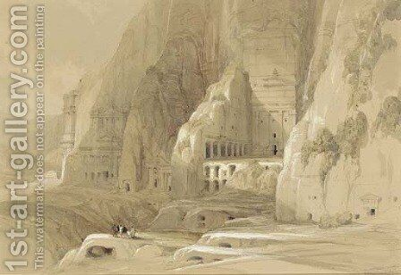Petra by David Roberts - Reproduction Oil Painting