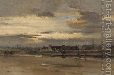 Lossiemouth, Morayshire by David West - Reproduction Oil Painting