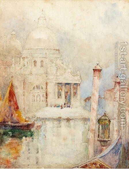 Venice by David Woodlock - Reproduction Oil Painting