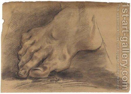 A foot by Domenico Maria Canuti - Reproduction Oil Painting