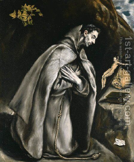 El Greco by El Greco - Reproduction Oil Painting