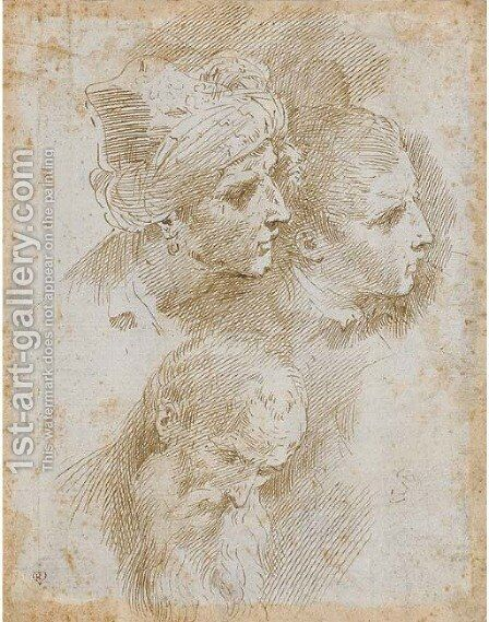 The Three Ages of Man by Donato Creti - Reproduction Oil Painting